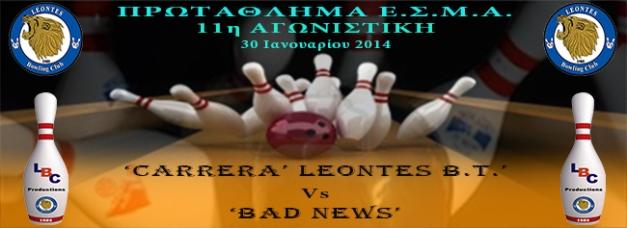 LEAGUE Events fb Cover 2013-14_Vs_Bad News_w11_650